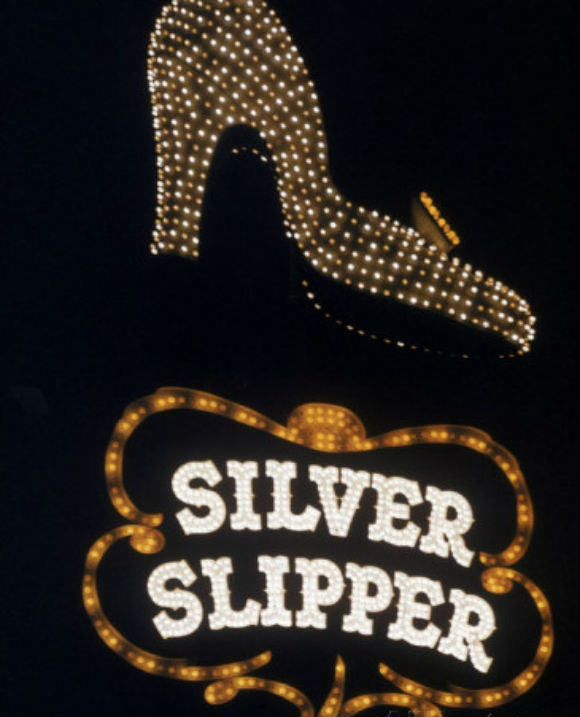 loomis dean silver slipper sign in las vegas